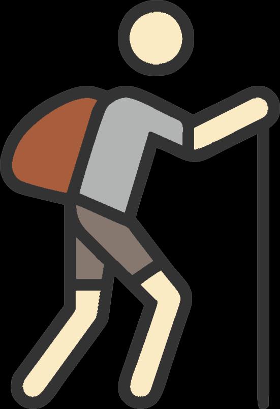 Resultado de imagen de icono senderismo